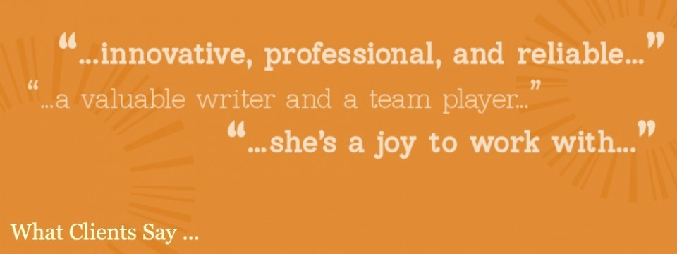 Clients Say …